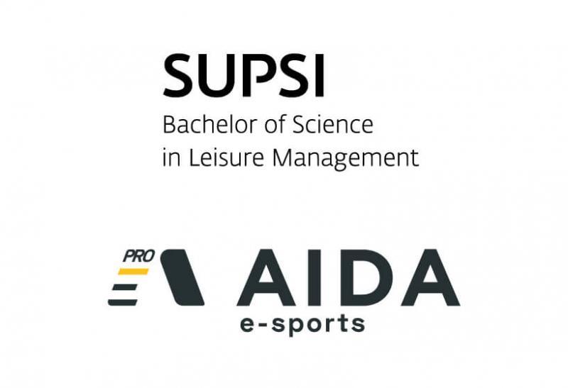 Aida Pro Esports e il corso di laurea in Leisure Management SUPSI collaborano per la crescita degli esports.